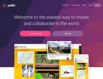 Thumbshot of Padlet.com