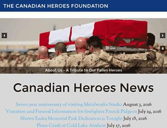 Thumbshot of Canadianheroes.com