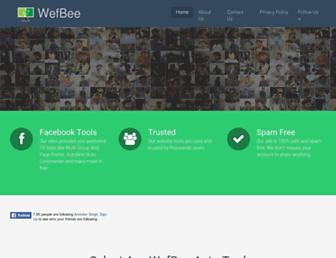 wefbee.com screenshot