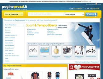 pagineprezzi.it screenshot