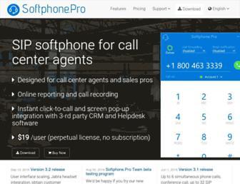 softphone.pro screenshot