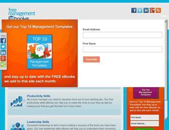 free-management-ebooks.com screenshot