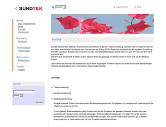 sundtek.de screenshot