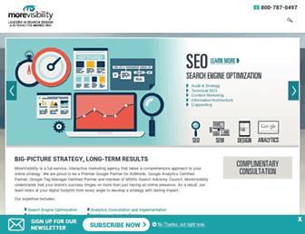 morevisibility.com screenshot