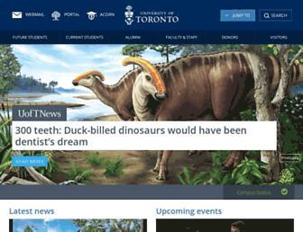 Thumbshot of Toronto.edu