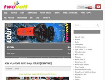 twovolt.com screenshot