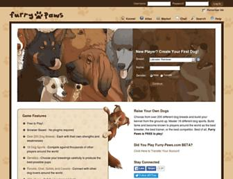 furry-paws.com screenshot