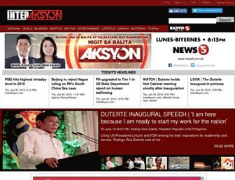 interaksyon.com screenshot
