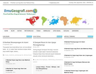 ilmugeografi.com screenshot