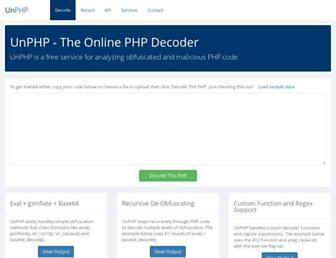 Thumbshot of Unphp.net