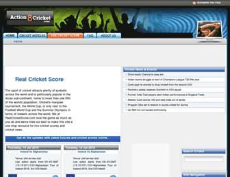 Thumbshot of Action8cricket.com