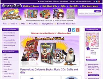 Thumbshot of Personallyyoursbooks.com