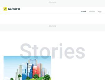 weatherpro.com screenshot