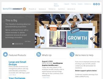 Thumbshot of Benefitsconnect.net