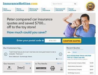 Thumbshot of Insurancehotline.com