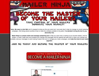 Thumbshot of Mailerninja.com