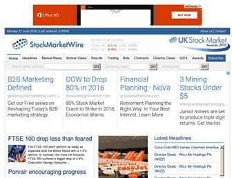 stockmarketwire.com screenshot