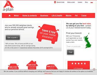 aplan.co.uk screenshot