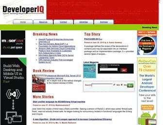 developeriq.in screenshot