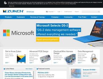 zuken.com screenshot