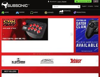 subsonic.fr screenshot