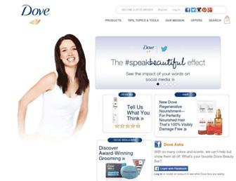 Thumbshot of Dove.us