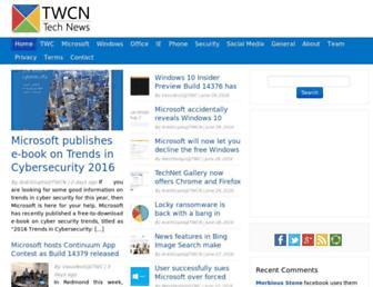 news.thewindowsclub.com screenshot