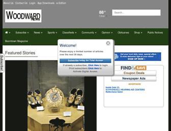 woodwardnews.net screenshot