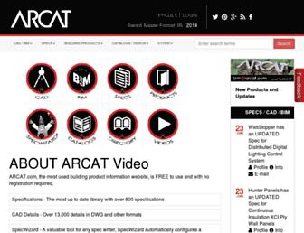 arcat.com screenshot