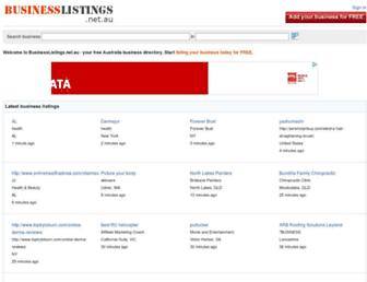 Thumbshot of Businesslistings.net.au