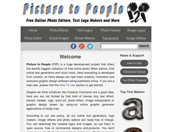 Thumbshot of Picturetopeople.org