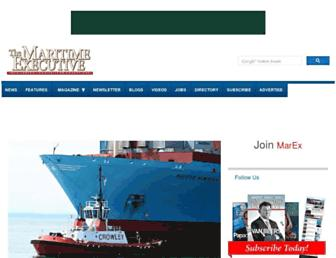 maritime-executive.com screenshot