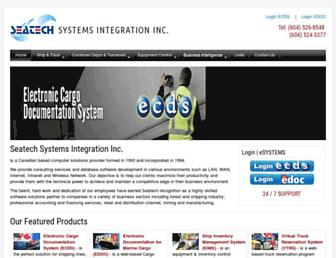 seatech.bc.ca screenshot