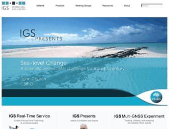igs.org screenshot