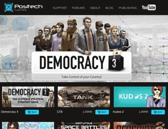 Fullscreen thumbnail of positech.co.uk