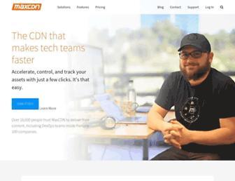 Thumbshot of Maxcdn.com