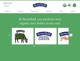 Thumbshot of Stonyfield.com