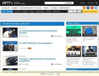 generation-nt.com screenshot