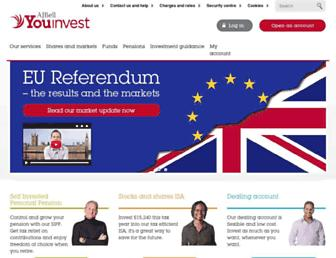 Thumbshot of Youinvest.co.uk