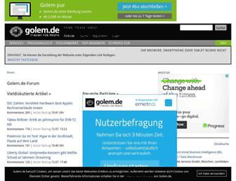 forum.golem.de screenshot