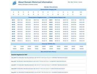 domain-history.info screenshot