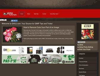 ghuj.com screenshot