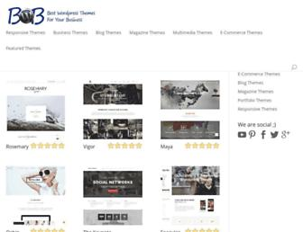 bestwordpressbusinessthemes.com screenshot