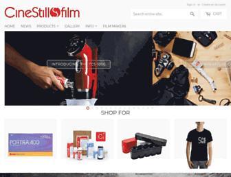 cinestillfilm.com screenshot