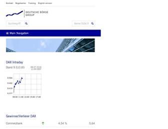 Thumbshot of Deutsche-boerse.com