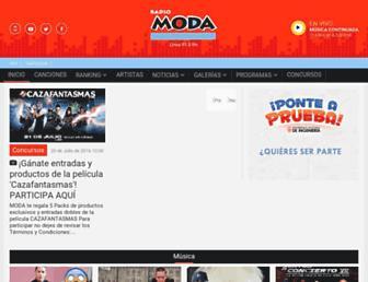 moda.com.pe screenshot
