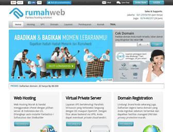 rumahweb.com screenshot