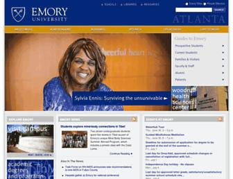 Thumbshot of Emory.edu