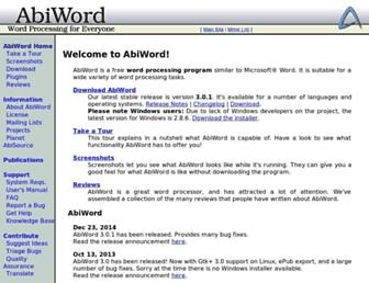 Thumbshot of Abisource.com