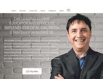 nealschaffer.com screenshot